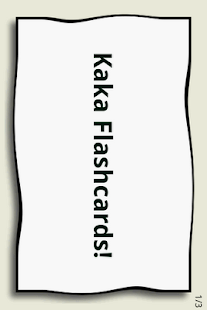 Kaka Flashcards- screenshot thumbnail