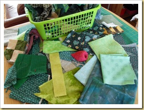 Green Scraps basket