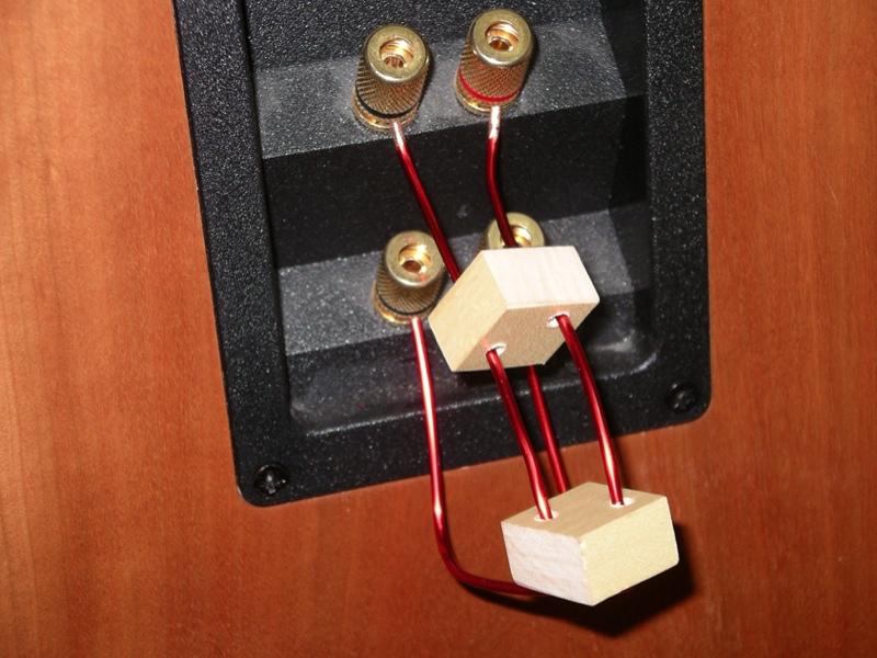 anti cables speaker jumper cable leads bi wire links ebay. Black Bedroom Furniture Sets. Home Design Ideas