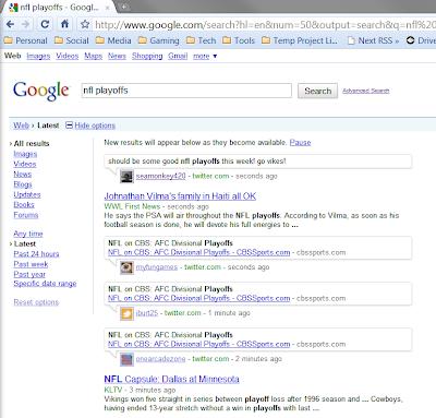 google latest view