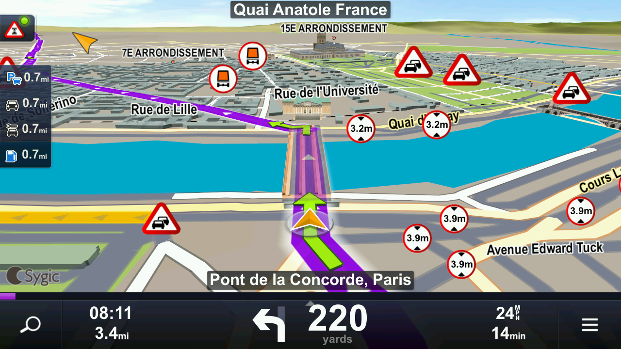 Sygic Truck Navigation - screenshot