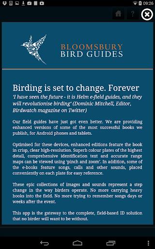 Bloomsbury Bird Guides