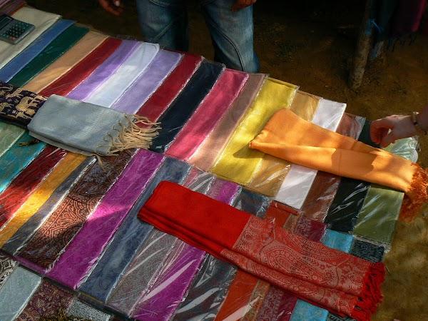 Imagini India Goa: saluri la Anjuna