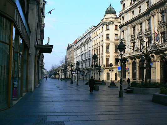 Obiective turistice Serbia: Kniaz Mihailova Belgrad