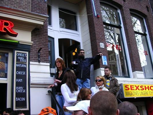 Imagini Olanda: Hotel 83 Amsterdam iesire hotel