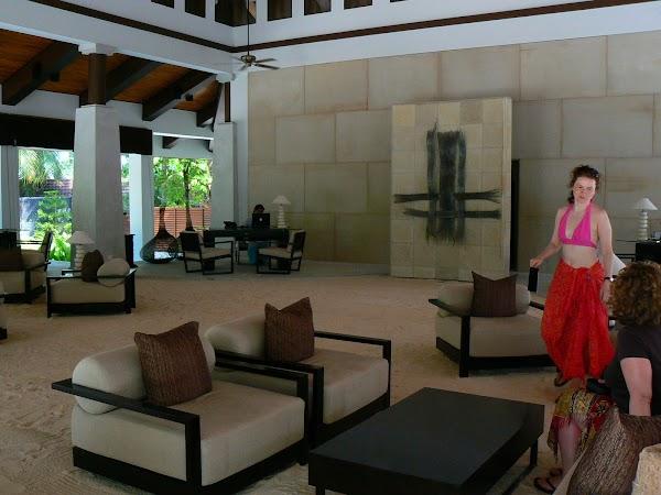Imagini Maldive: Velassaru reception lodge