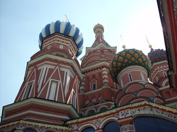 Obiective turistice Rusia: catedrala sf vasile Moscova