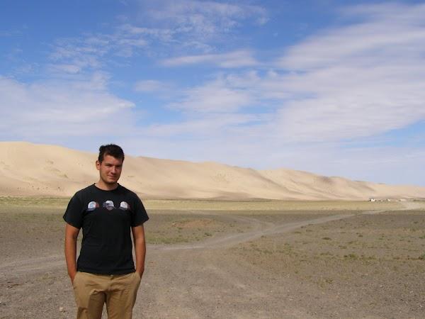obiective turistice Mongolia: desertul Gobi