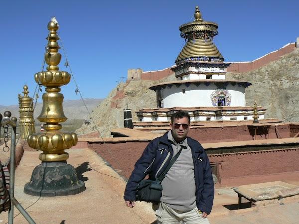 Obiective turistice Tibet: chorten Gyantse