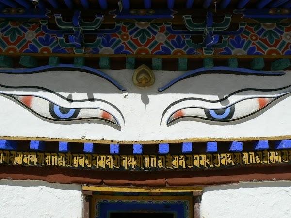 ochii lui Buddha, Gyantse
