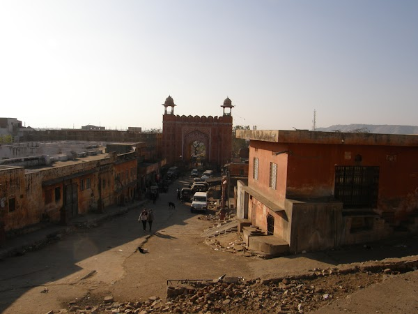 Obiective turistice India: templul lui Hanumanm Jaipur