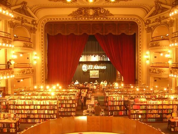 Obiective turistice Argentina: LIBRARIA EL Ateneo, Buenos Aires