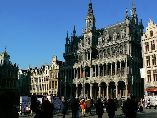 Obiective turistice Belgia: Maison du Roi, Grand Place, Bruxelles