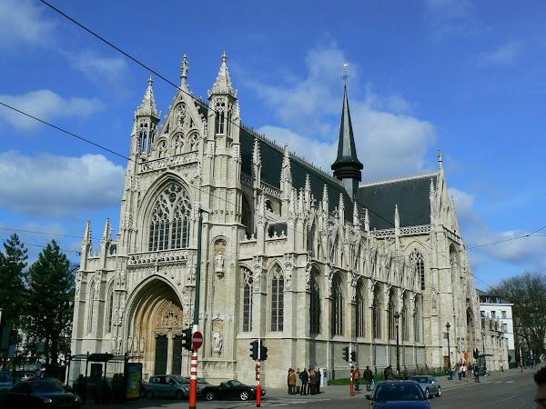 Obiective turistice Belgia: Sablon, Bruxelles