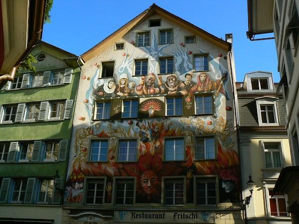Obiective turistice Elvetia: Restaurant Fritschi, Lucerna