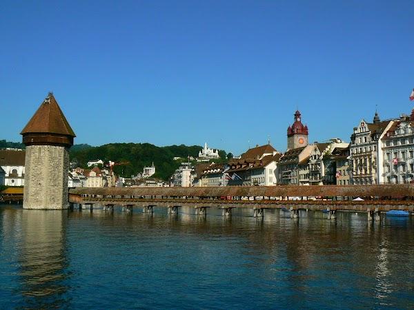 Obiective turistice Elvetia: Kappelbruke, Luzern