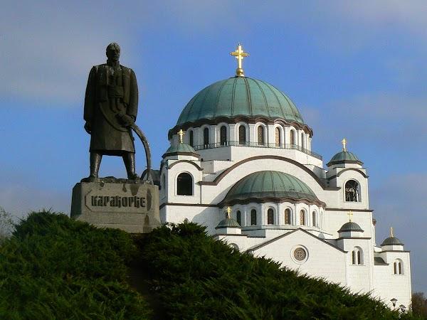 Obiective turistice Serbia: Sveti Sava, Belgrad Descoperiti Balcanii