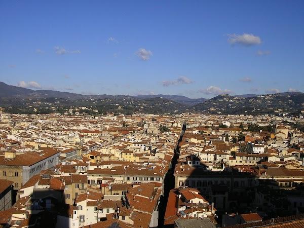 Obiective turistice Italia: din Campanile, Florenta