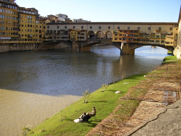 Obiective turistice Italia: Firenze, Ponte Vecchio, Florenta