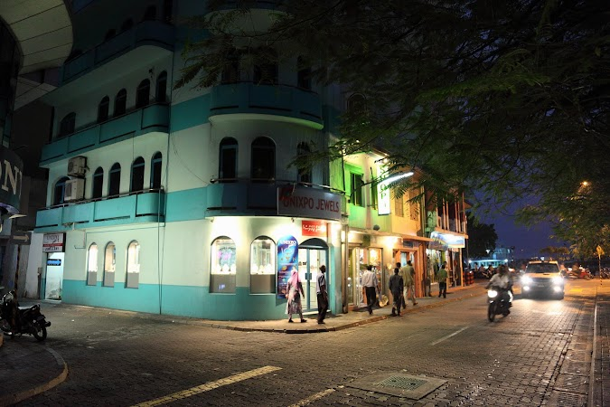 Imagini Maldives: Male by night.JPG