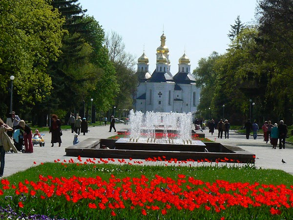 Obiective turistice Ucraina: spre Ditinets - Citadela Cernighiv