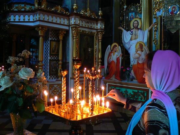 Obiective turistice Ucraina: interior biserica schimbarea la fata, Cernighiv