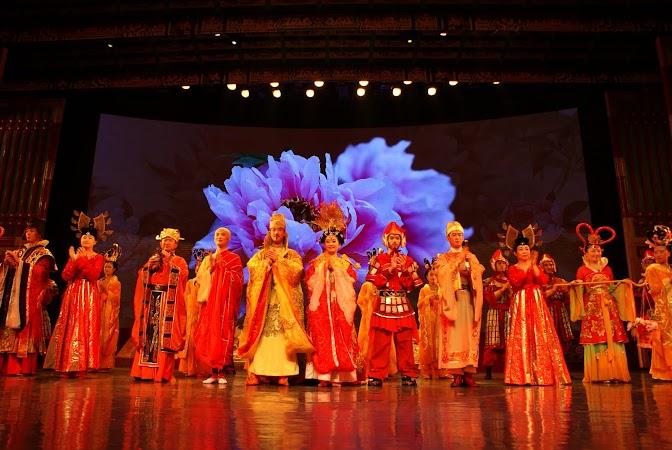 Atractii turistice China: spectacol dinastia Tang, Xian