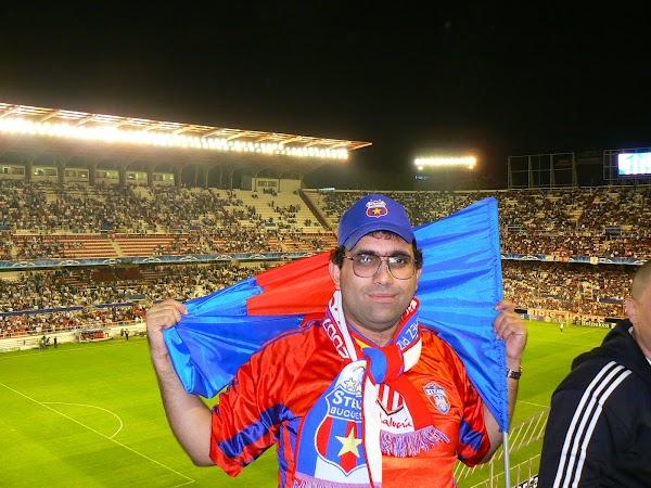 Obiective turistice Spania: pe stadionul Ramon Sanchez Pizjuan, Sevilla