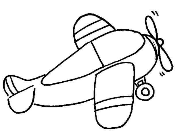 Dibujos De Aviones Y Helicopteros Para Pintar