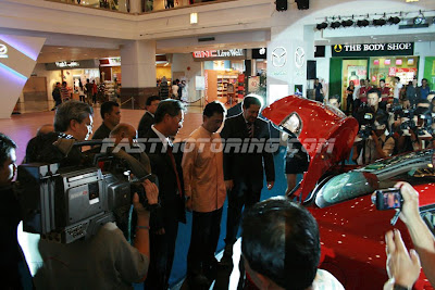 Mazda 3 Trunk Tengku