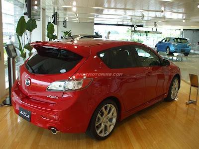 Mazdaspeed Axela 2010 Rear