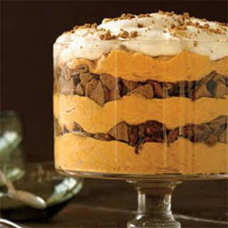 Spiced Pumpkin Mousse Trifle.