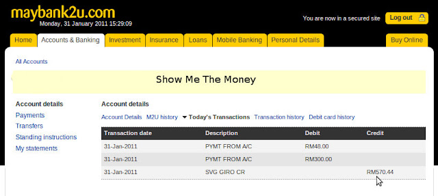 Successfully Transfer Money from PayPal to Maybank Account