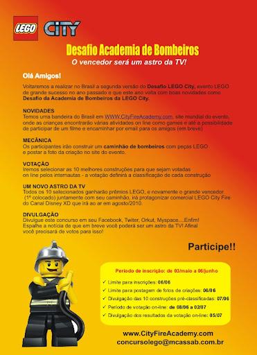 Novo Desafio de Construção LEGO® City