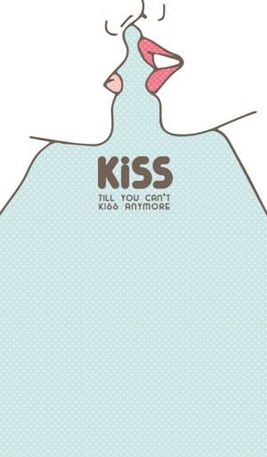 kiss kiss 카카오톡 테마