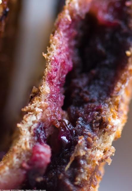 Dessert Panini Smashed Choco Pb Covered Cherry Vegan