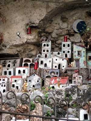 Town model in Amalfi Italy