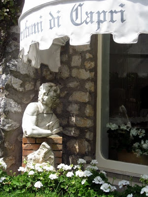Boutique in Capri Italy