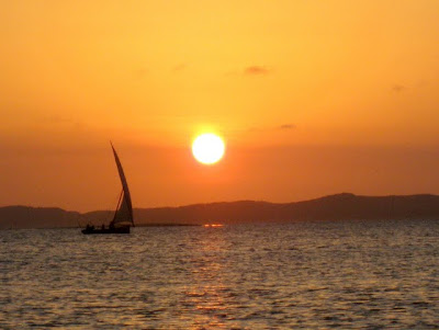 Sunset in Lamu