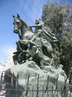 Statue in Damascus