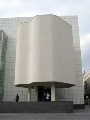 MACBA modern art museum in Barcelona, Spain