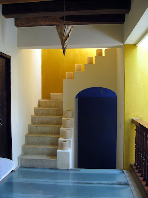 Interior of Casa El Carretero in Cartagena