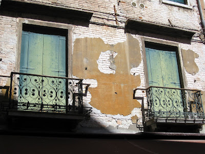 Venetian windows in Venice