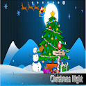 Christmas Night Free logo