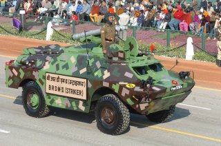 Indian Army Armoured Carrier Vehicle [BRDM-2 Striker Amphibious Armoured Carrier Vehicle]