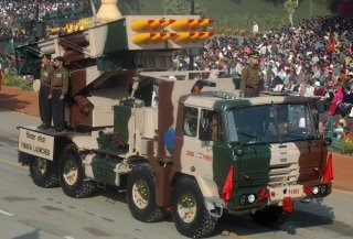 Indian Army's Multi-Barrel Rocket Launcher [MBRL] Pinaka Wallpaper