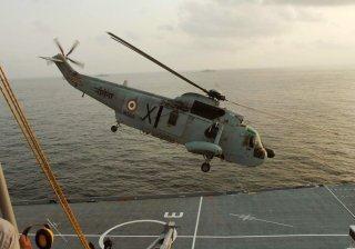 Indian Navy Air wing wallpaper [Sikorsky Sea King Helicopter]
