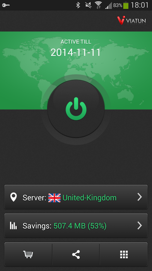 VIATUN VPN - screenshot