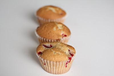 photo of three cupcakes