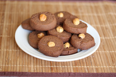 photo of cookies piled on a plate
